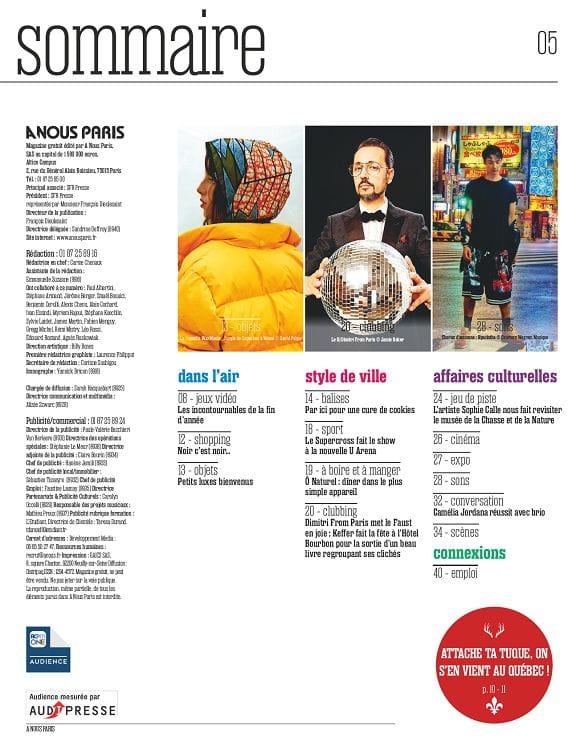 Capuche Paris - A Nous Paris