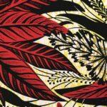 Capuche Paris - Face mask WAX Red Leaves