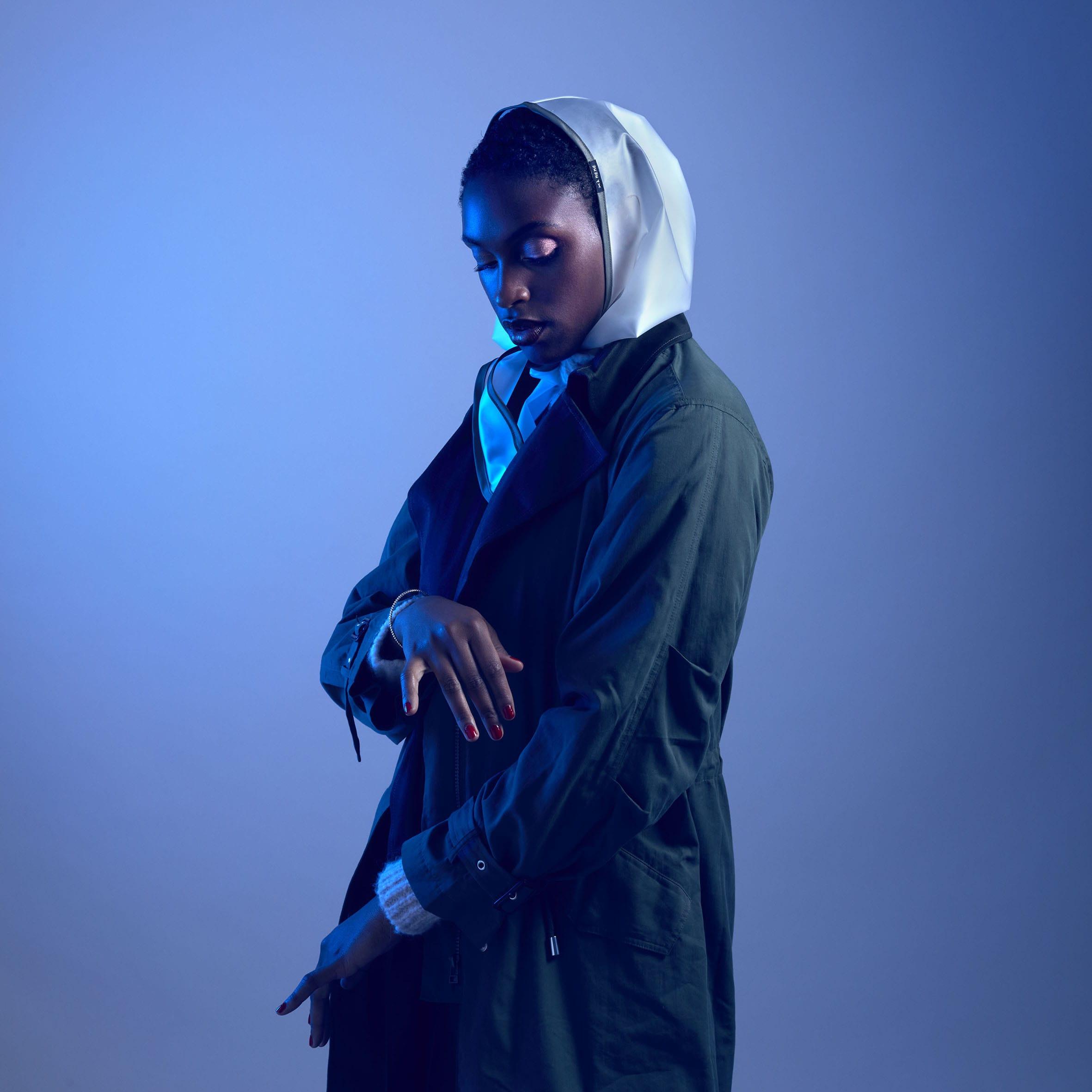 Capuche Paris - Transparent Khaki Rain Hood