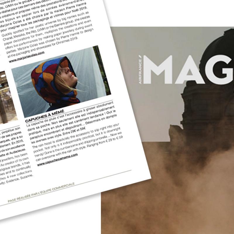 Capuche Paris - Air France Mag