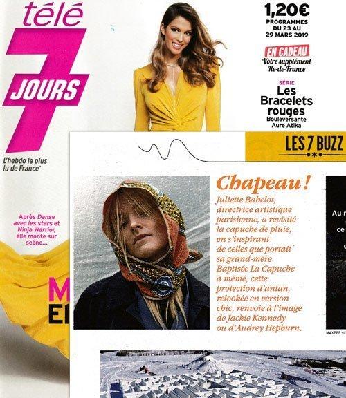 Capuche Paris - Télé 7 Jours