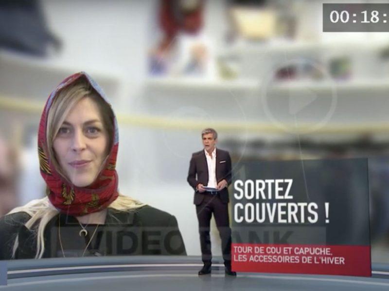 Capuche Paris - Capuches à Mémé dans le 19.45 du Mercredi 5 février 2020